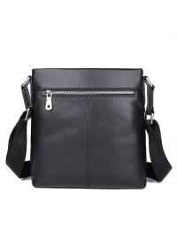 Черная мужская сумка на плечо - планшетка 71048A-2