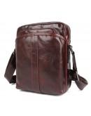 Фотография Коричневая мужская сумка 71054X