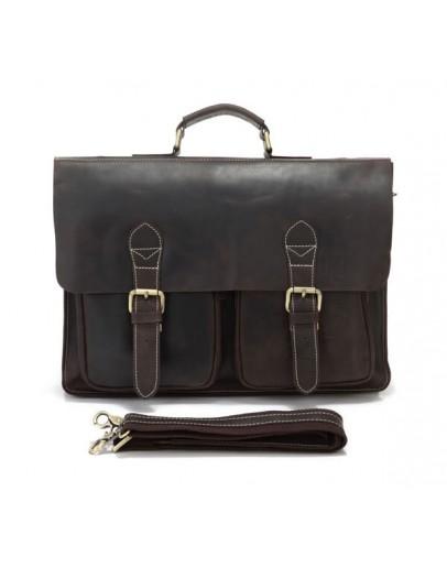 Фотография Первоклассный стильный кожаный портфель 77105R
