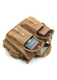 Кожаный мужской стильный портфель 77106B