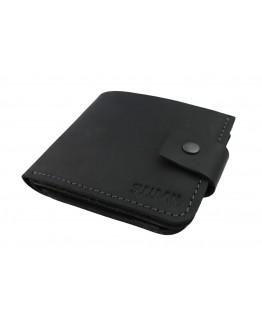 Черный мужской кошелек 7108-SKE