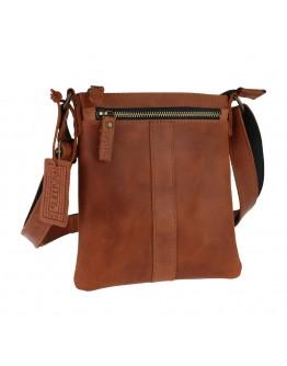 Светло-коричневая мужская плечевая планшетка 710820-SKE