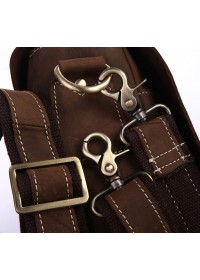 Винтажный оригинальный кожаный портфель 77108R
