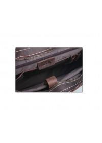 Коричневый мужской кожаный портфель t71099