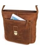 Фотография Мега-крутая сумка на плечо из натуральной кожи лошади 77111B