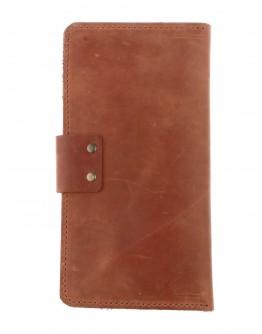 Светло коричневый мужской большой кошелек 71110P-SKE