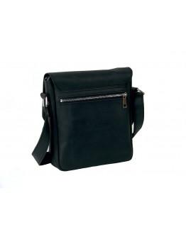 Кожаная черная сумка с клапаном 71115-SGE