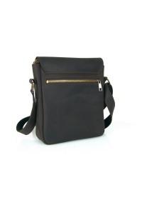 Коричневая плечевая сумка с клапаном 71116-SGE
