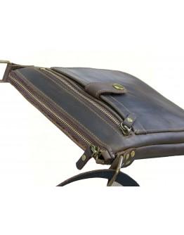 Кожаная коричневая мужская планшетка 71118-SGE