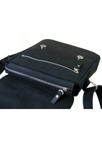 Черная мужская сумка на плечо на каждый день 71119-SGE