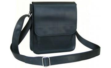 Черная удобная мужская сумка на плечо 7112-SGE