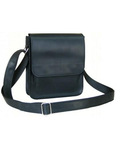 Фотография Черная удобная мужская сумка на плечо 7112-SGE