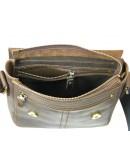Фотография Коричневая плечевая кожаная мужская сумка 71121-SGE