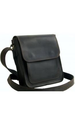 Коричневая небольшая сумка через плечо 7113-SGE