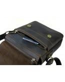 Фотография Темно-коричневая мужская плечевая сумка 71131-SGE