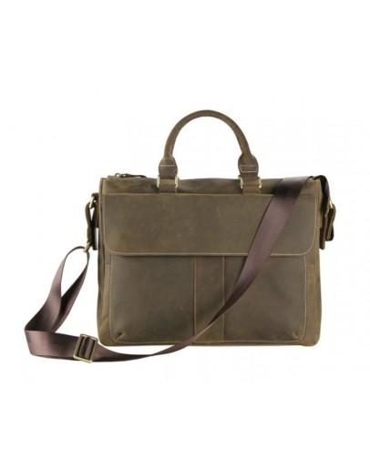 Фотография Стильная и удобная мужская сумка из лошадиной кожи 77113R
