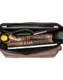 Фотография Портфель мужской кожаный из конской кожи 71148