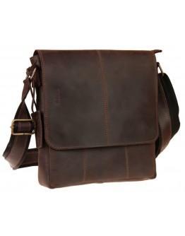 Коричневая удобная мужская сумка через плечо 711540-SKE
