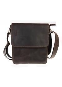 Мужская темно-коричневая плечевая сумка 711830-SKE