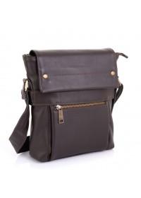 Мужская коричневая вместительная сумка через плечо Tarwa GC-7121-3md