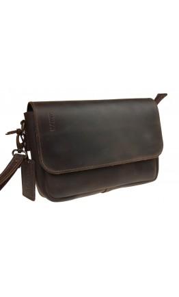 Клатч мужской коричневый из натуральной кожи 7122411-SKE