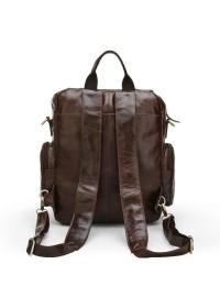 Коричневый повседневный мужской рюкзак коричневого цвета 77123c
