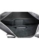 Фотография Черная удобная кожаная мужская сумка 71240-SKE
