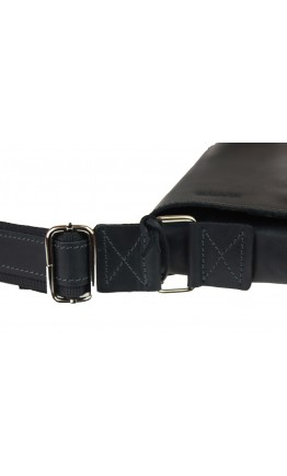 Черная вертикальная мужская сумка на плечо 712530-SKE