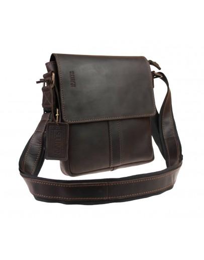 Фотография Коричневая мужская вертикальная сумка на плечо 712630-SKE