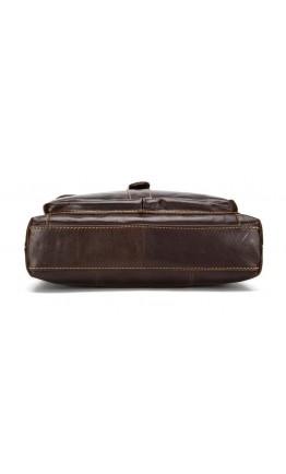 Мужская сумка коричневого цвета из натуральной кожи 71292c