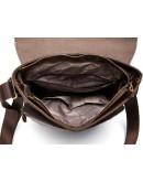 Фотография Мужская сумка коричневого цвета из натуральной кожи 71292c
