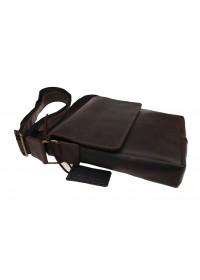 Коричневая сумка на плечо классического размера 713035-SKE