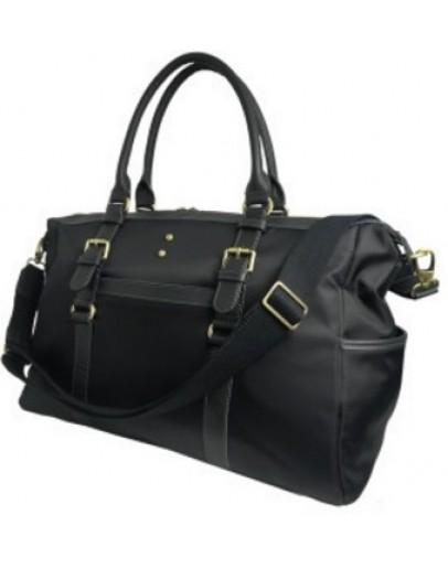 Фотография Тканевая чёрная сумка для командировок 7130707
