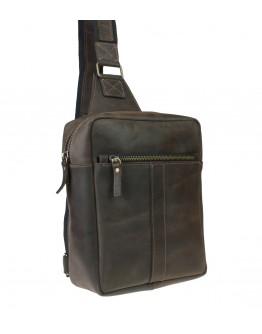 Мужской небольшой кожаный слинг 7130991-SKE