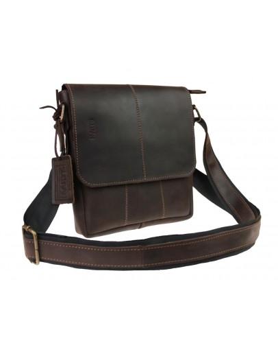 Фотография Коричневая оригинальная мужская сумка на плечо 713335-SKE