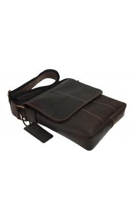 Коричневая оригинальная мужская сумка на плечо 713335-SKE