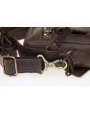 Фотография Мужская коричневая кожаная сумка - барсетка 713530-SKE