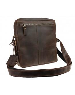 Коричневая сумка мужская на плечо без клапана 713732-SKE