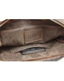 Фотография Коричневая сумка мужская на плечо без клапана 713732-SKE