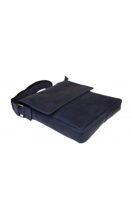 Синяя мужская кожаная сумка через плечо 713940-SKE