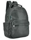 Фотография Черный рюкзак из натуральной кожи 713A-2