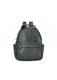 Черный рюкзак из натуральной кожи 713A-2