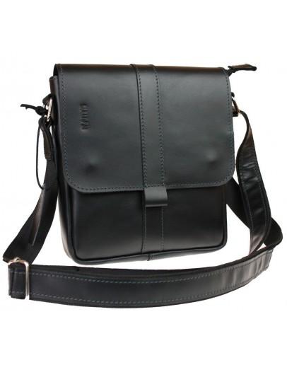 Фотография Мужская кожаная сумка из гладкой кожи 714130-SKE