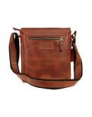 Фотография Мужская светло-коричневая кожаная сумка на плечо 714232-SKE