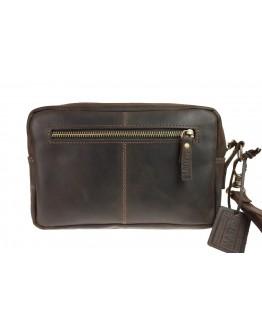 Клатч мужской кожаный темно-коричневый 71425K-B