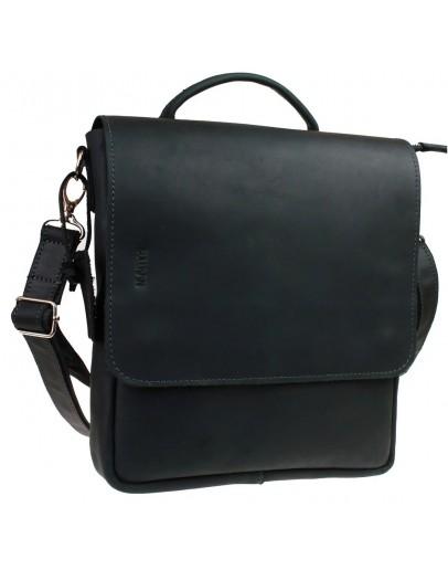 Фотография Мужская черная удобная сумка - барсетка 7146467-SKE