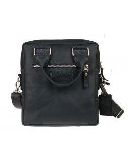 Удобная мужская черная сумка - барсетка 714739-SKE