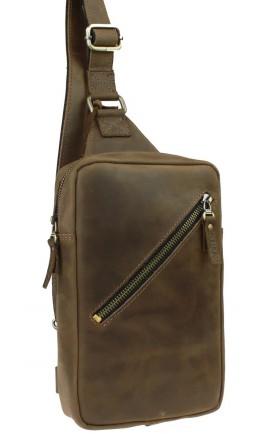 Мужской винтажный кожаный слинг 7148891-SKE