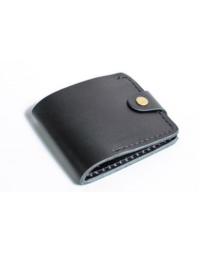 Фотография Мужской черный кошелек гладкий Man 71511-M