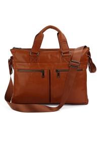 Стильная и модная мужская кожаная сумка - портфель 77152b